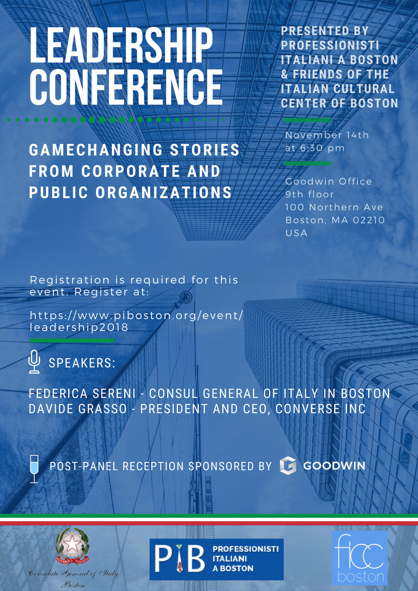 Conference In Boston Wednesday November >> Leadership Conference Stories From Corporate And Public