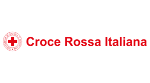 Donate to the croce rosse italiana logo with embedded link.
