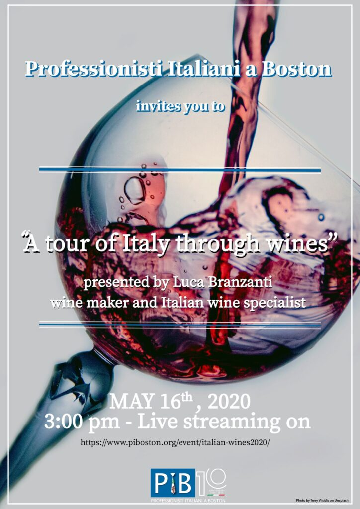 A Tour of Italy through Wines - May 16th